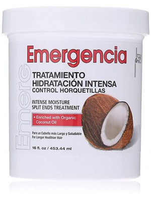 """Emergencia"" moisturizing coconut hair mask"
