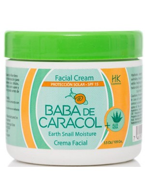 "Facial Cream ""Baba de Caracol"" with Aloe"