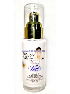 """Karla"" Anti-aging Serum for the face with snail mucus"