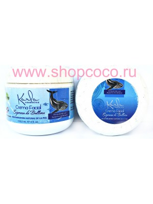 """K-RLA"" cream for face with sperm of whale"