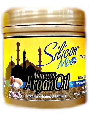 """Silicon Mix Moroccan Argan Oil"" маска для волос с аргановы маслом"